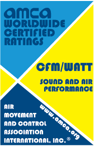 AMCA Sound & Air certification logo