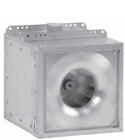 SQN:  Square Inline Fans with Multi-Directional Discharge