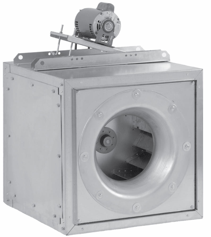 Cook bathroom exhaust fans - Loren Cook Citation Iv Source Sqn Square Inline Fans With Multi Directional Discharge