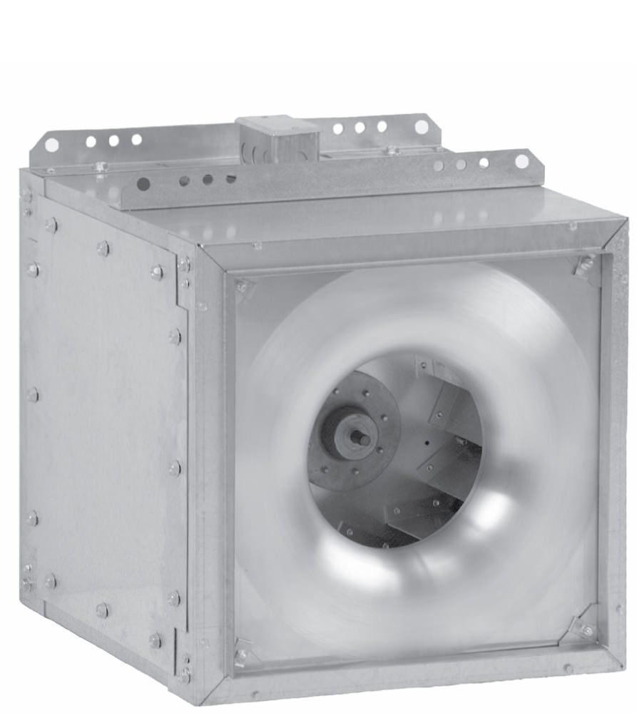 Sqn  Square Inline Fans With Multi