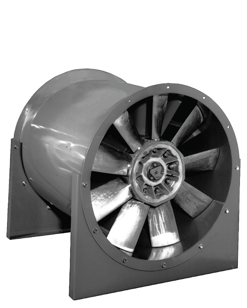 Variable Pitch Fan : Ava adjustable pitch vane axial fan