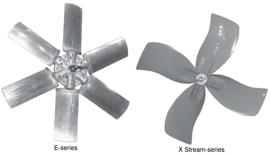 5 Propeller Fan : Propeller hooded h series fans
