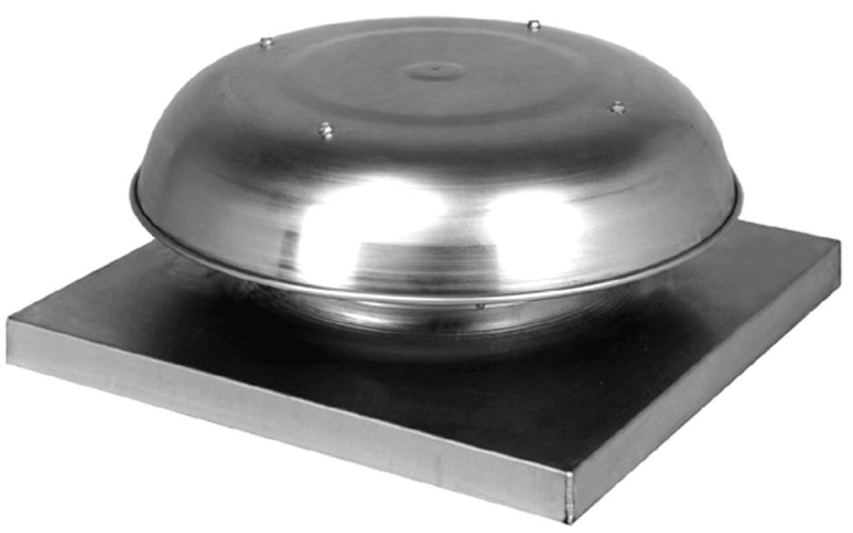 Commercial Roof Ventilation : Gravity vents
