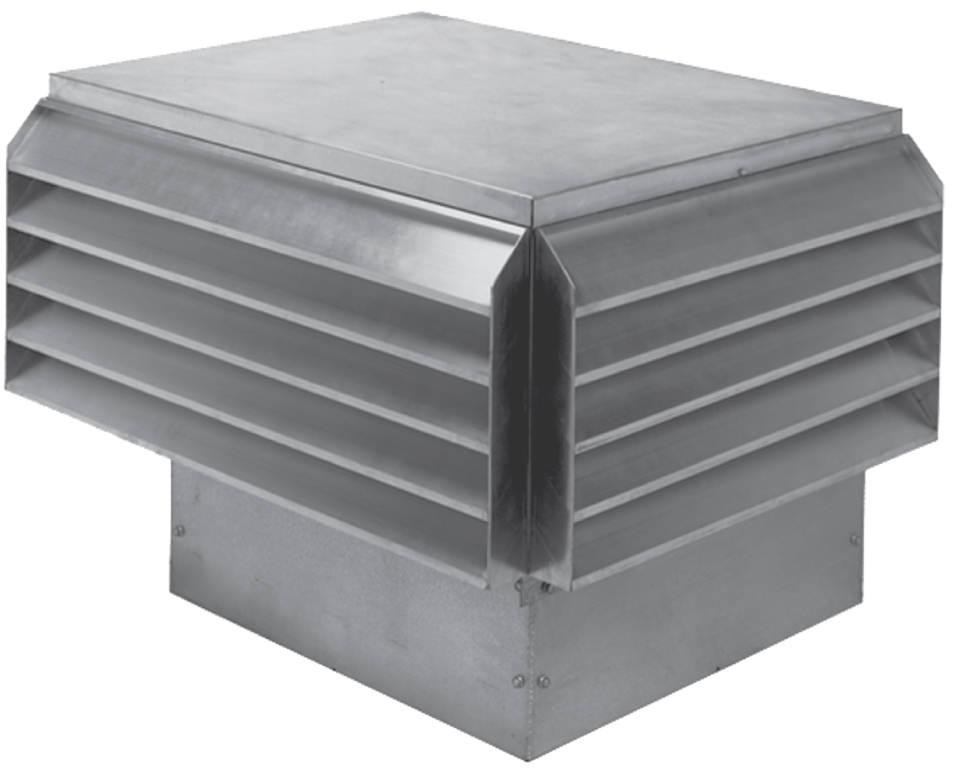 Power Roof Ventilators : Lc low contour power roof ventilators