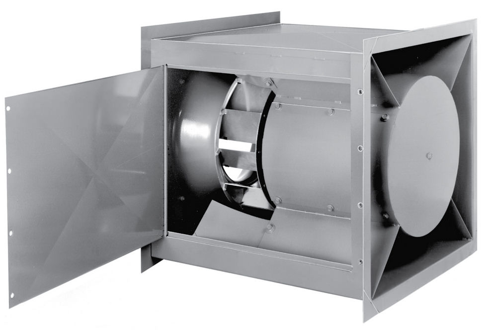 SQI: Square Centrifugal Inline Blowers