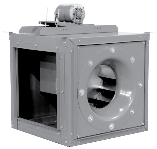 Sqn Square Inline Fans With Multi Directional Discharge