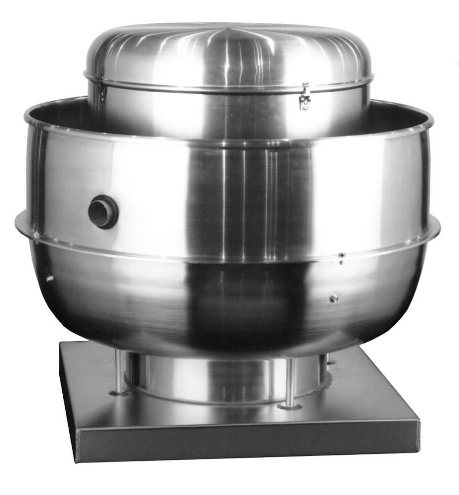 Vcr Restaurant Upblast Centrifugal Roof Exhaust Ventilator